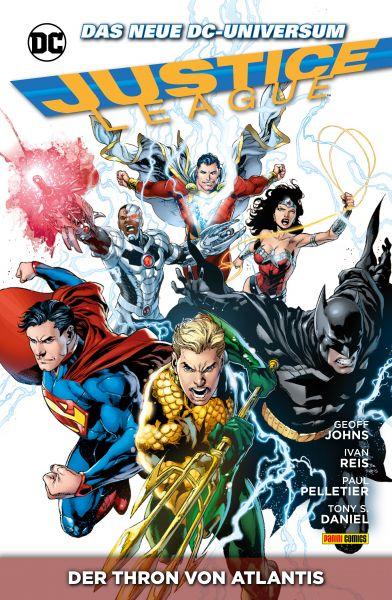 Justice League, Band 3 - Der Thron von Altantis