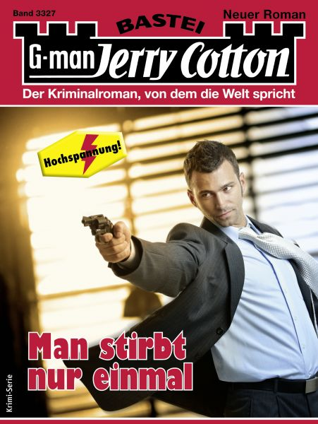 Jerry Cotton 3327 - Krimi-Serie