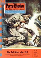 Perry Rhodan 87: Die Schläfer der ISC (Heftroman)