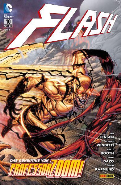 Flash - Bd. 10: Das Geheimnis von Professor Zoom