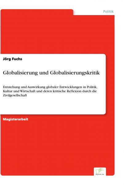 Globalisierung und Globalisierungskritik