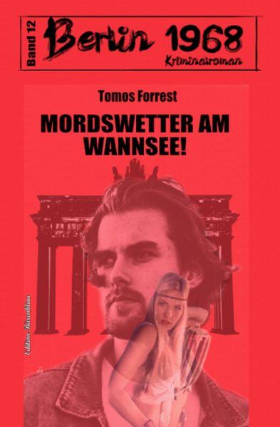 Mordswetter am Wannsee! Berlin 1968 Kriminalroman Band 12