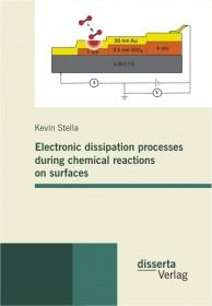 Electronic dissipation processes during chemical reactions on surfaces