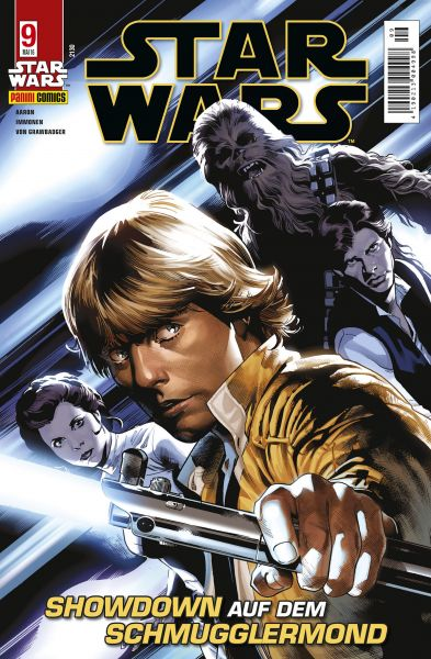 Star Wars, Comicmagazin 9 - Showdown auf dem Schmugglermond