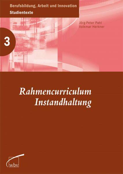 Rahmencurriculum Instandhaltung