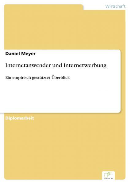Internetanwender und Internetwerbung