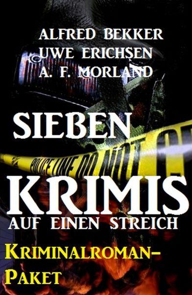 Sieben Krimis auf einen Streich: Kriminalroman-Paket