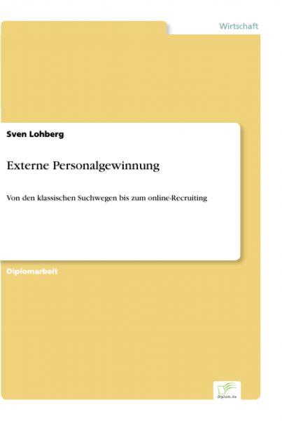 Externe Personalgewinnung