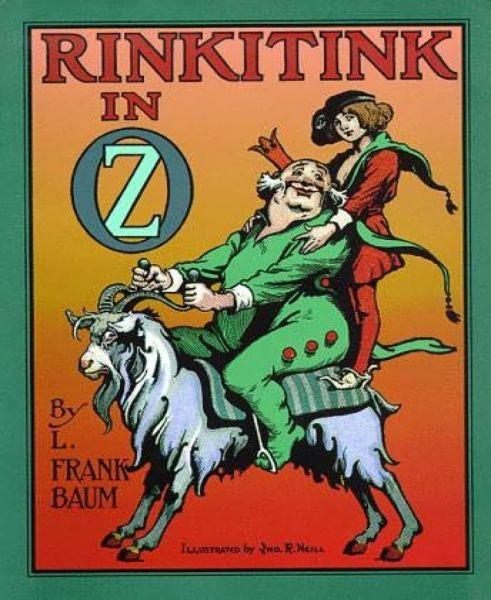 Rinkitink in Oz (Illustrated)