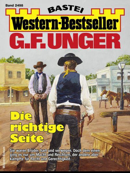 G. F. Unger Western-Bestseller 2498 - Western