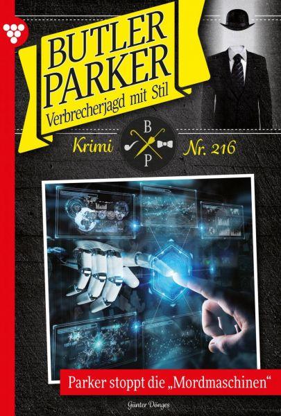 Butler Parker 216 – Kriminalroman