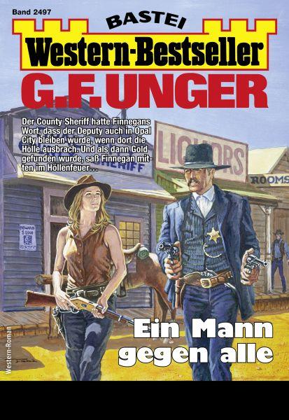 G. F. Unger Western-Bestseller 2497 - Western