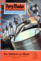 Perry Rhodan 86: Der Schlüssel zur Macht (Heftroman)