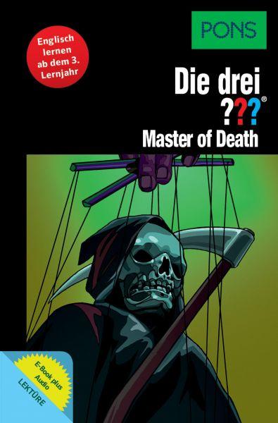 PONS Die drei ??? Fragezeichen Master of Death mit Audio
