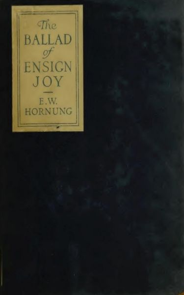The Ballad of Ensign Joy