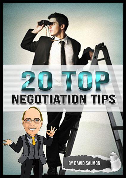 20 Top Negotiation Tips