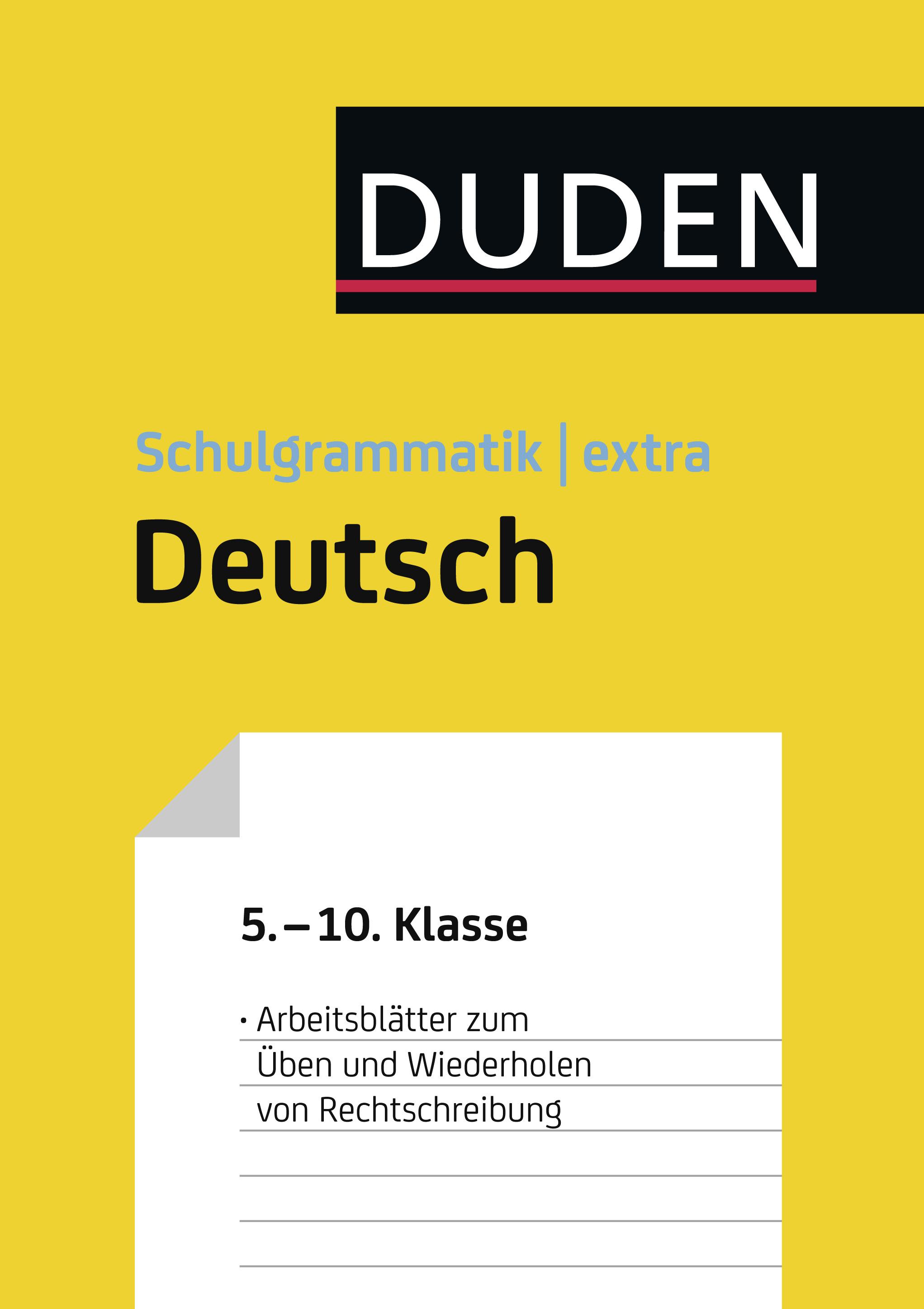Anja Steinhauer - Übungsblätter Rechtschreibung zur Duden ...