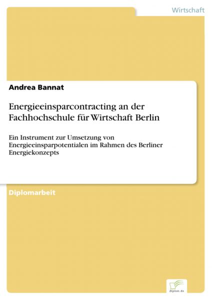 Energieeinsparcontracting an der Fachhochschule für Wirtschaft Berlin