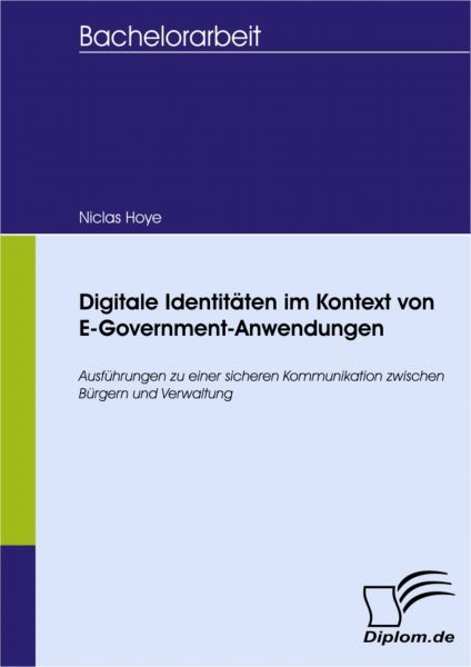 Digitale Identitäten im Kontext von E-Government-Anwendungen