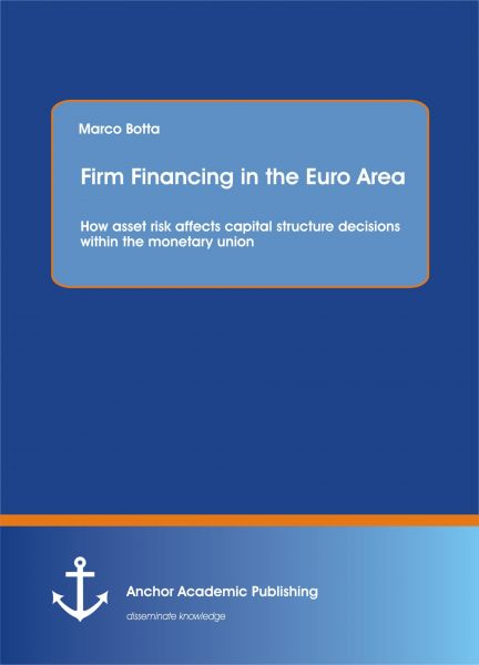 Firm Financing in the Euro Area: How asset risk affects capital structure decisions within the monet
