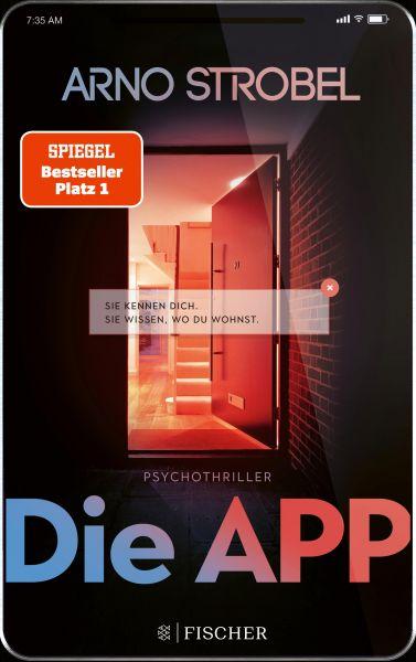 Cover Arno Strobel: Die APP
