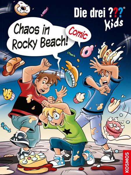 Die drei ??? Kids, Chaos in Rocky Beach! (drei Fragezeichen Kids)