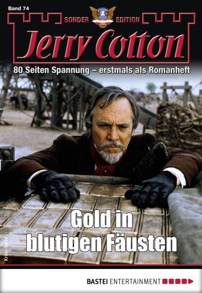 Jerry Cotton Sonder-Edition 74 - Krimi-Serie