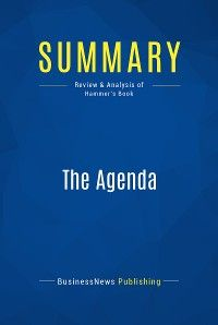 Summary: The Agenda