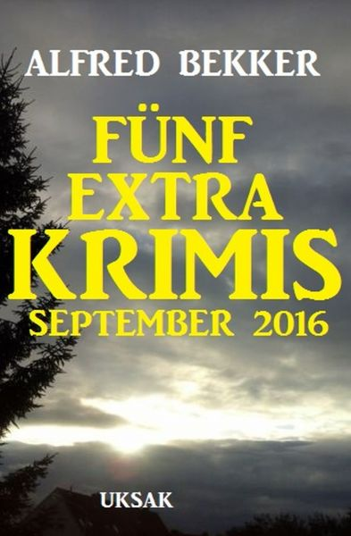 Fünf Extra Krimis September 2016