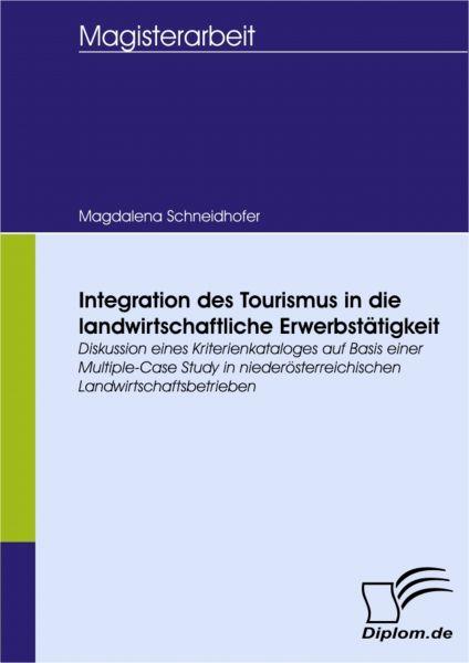 Integration des Tourismus in die landwirtschaftliche Erwerbstätigkeit