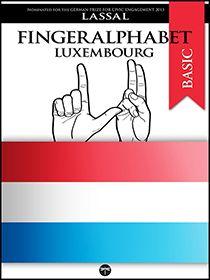 Fingeralphabet Luxembourg