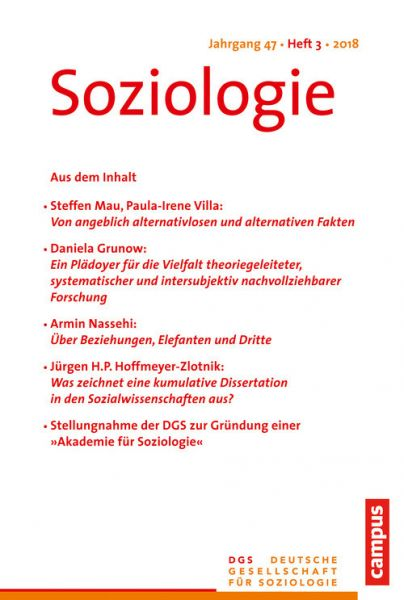 Soziologie Jg. 47 (2018) 3