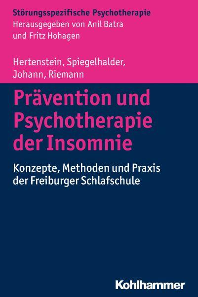 Prävention und Psychotherapie der Insomnie