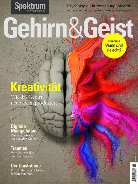 Gehirn&Geist 8/2021 Kreativität
