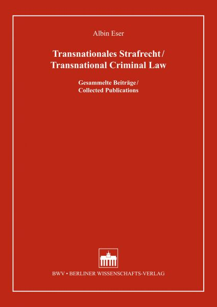 Transnationales Strafrecht/Transnational Criminal Law