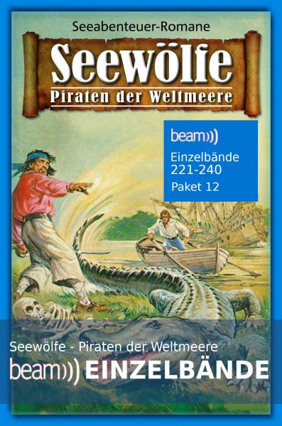 Seewölfe Beam Paket 12 Einzelbände