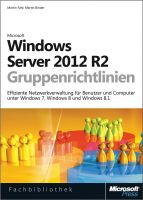 Windows Server 2012 R2-Gruppenrichtlinien