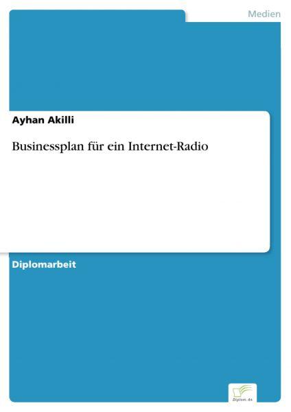 Businessplan für ein Internet-Radio