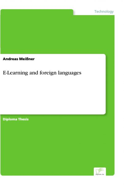 E-Learning and foreign languages
