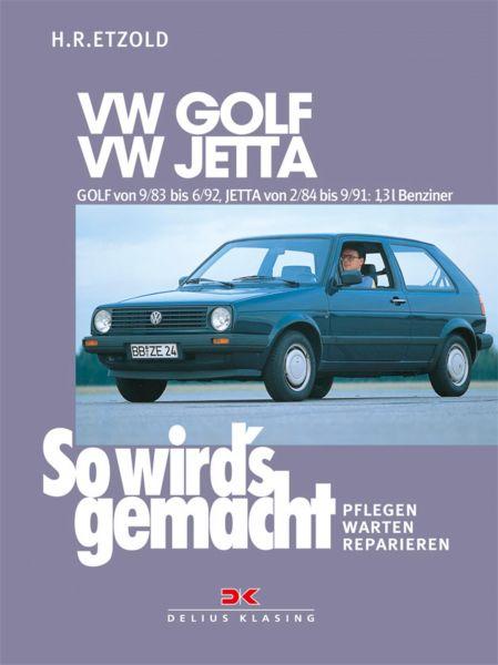 VW GOLF II von 9/83 bis 6/92, VW JETTA II von 2/84 bis 9/91