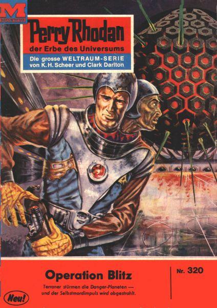 Perry Rhodan 320: Operation Blitz