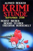 Krimi-Stunde September 2018: Sammelband