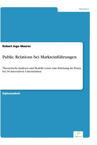 Public Relations bei Markteinführungen