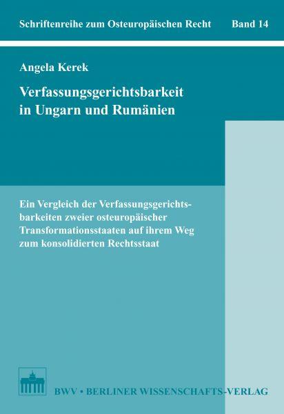 Verfassungsgerichtsbarkeit in Ungarn und Rumänien