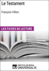 Le Testament de François Villon