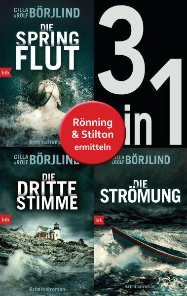 Die Rönning/Stilton-Serie Band 1 bis 3 (3in1-Bundle): - Die Springflut / Die dritte Stimme / Die Str