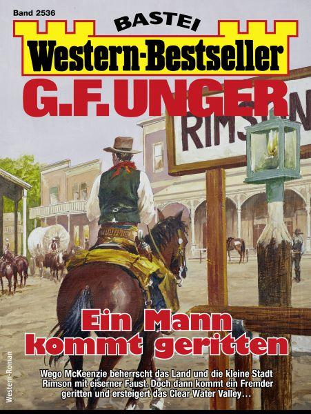 G. F. Unger Western-Bestseller 2536