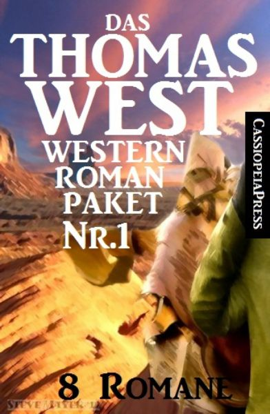 Das Thomas West Western Roman-Paket Nr. 1 (8 Romane)
