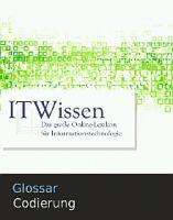 Glossar Codierung