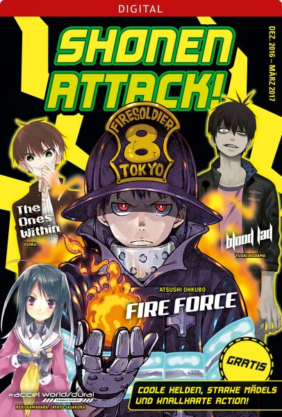 Shonen Attack Magazin #1